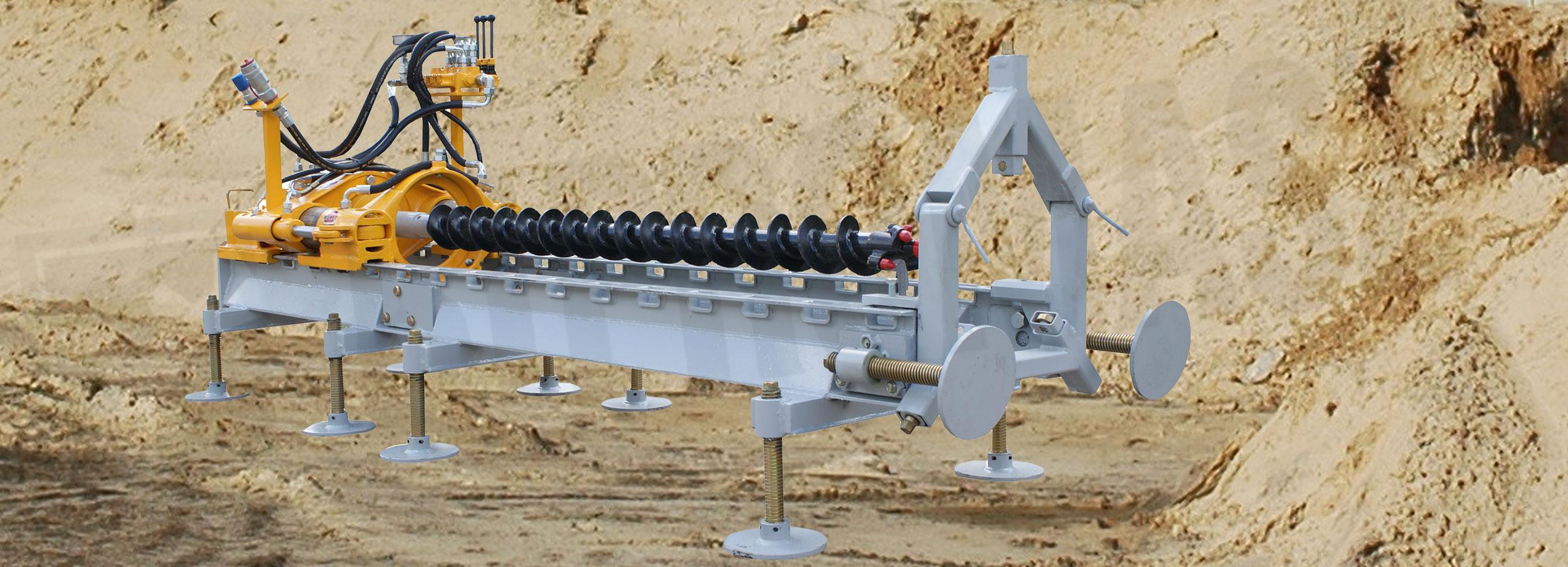 Hydrauliczna wiertnica pozioma HWP-27s produkcji Bipromasz