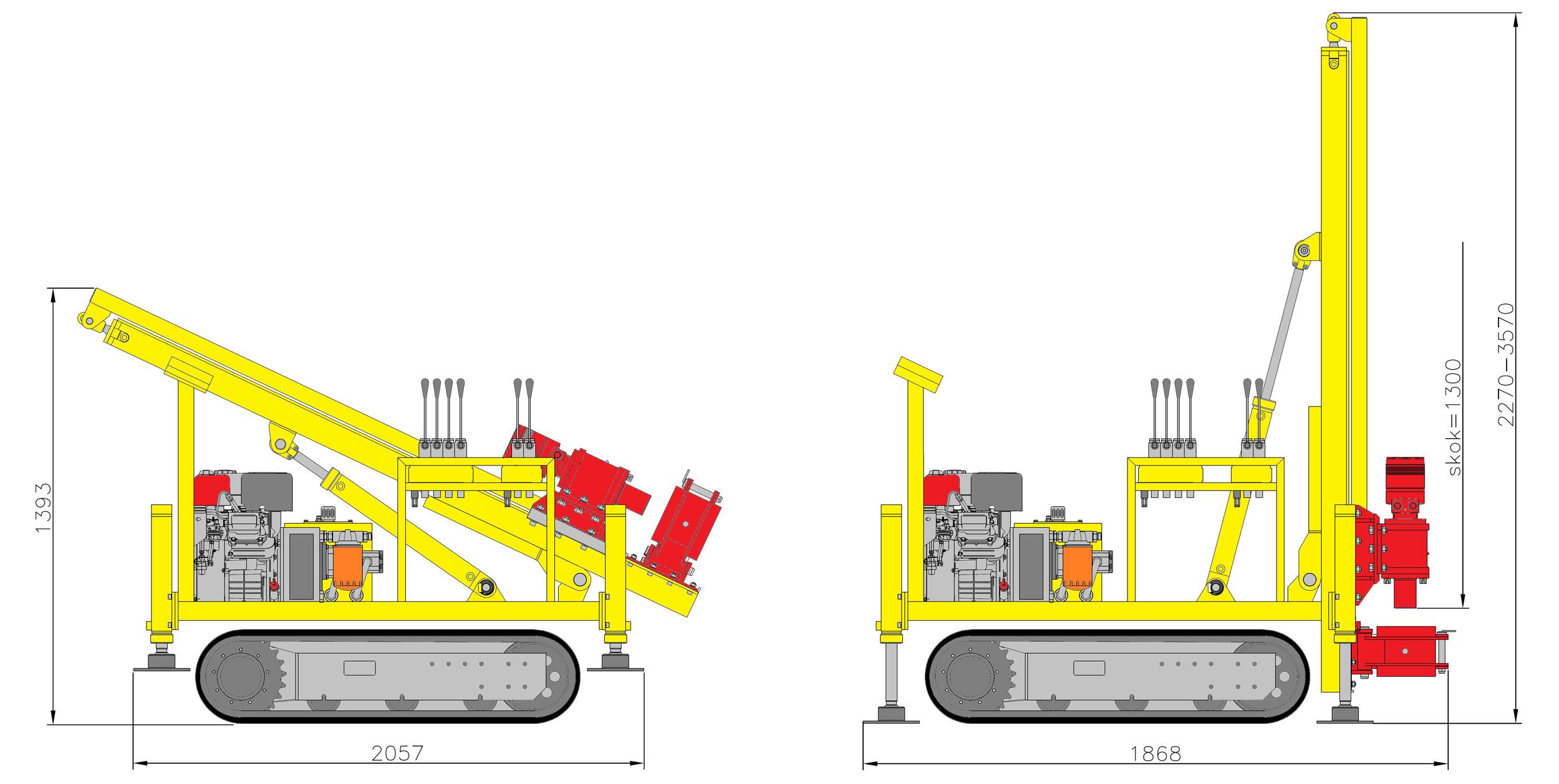 LWG16 – kompletacja do wiercenia ślimakiem