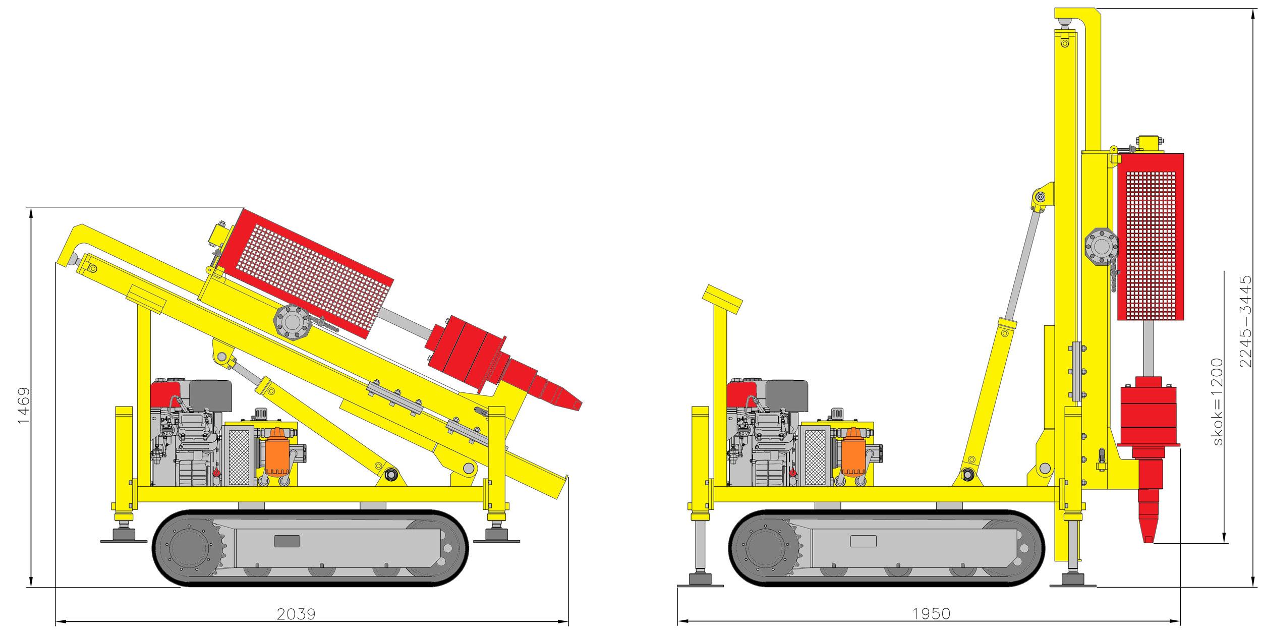 LWG16 – wyposażenie opcjonalne – sonda dynamiczna SPT-63