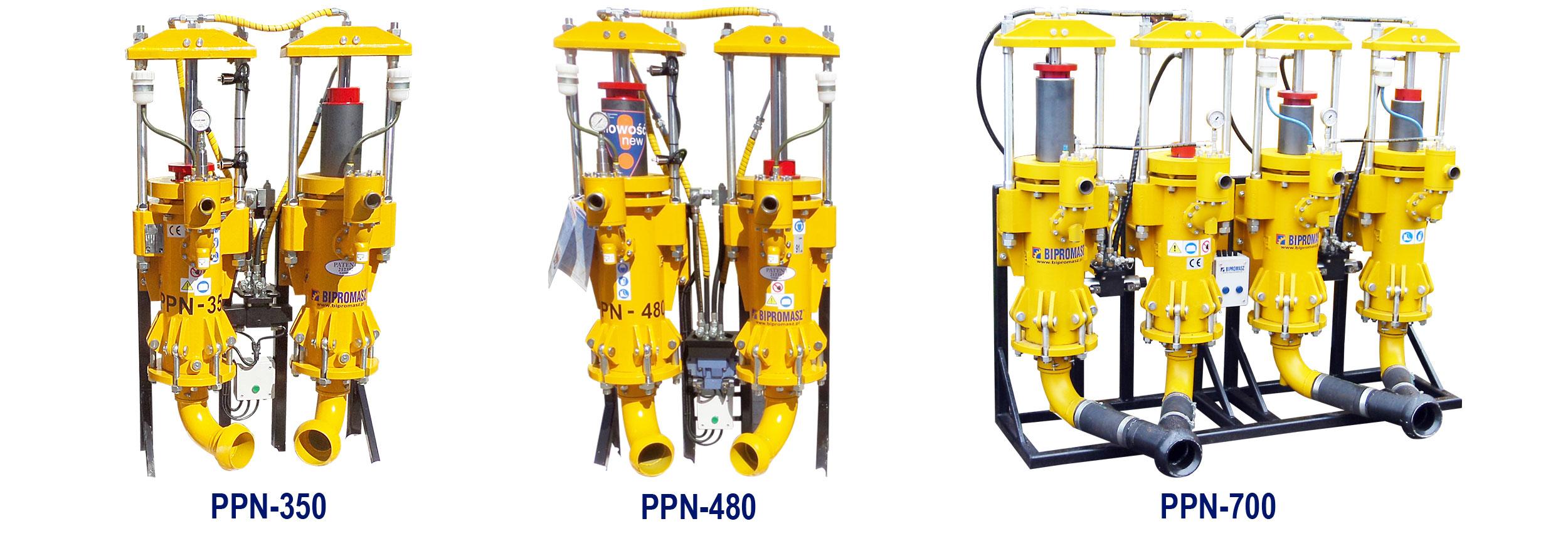 Pompy płuczkowe nurnikowe PPN - wszystkie rodzaje