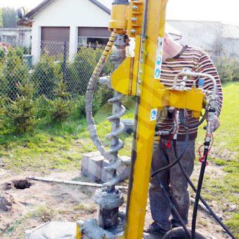 Wiertnica pionowa geotechniczna LWP-16
