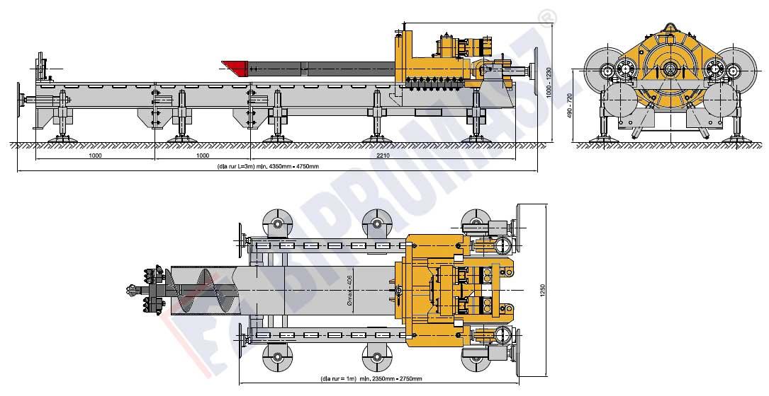 WPS-40 - wymiary