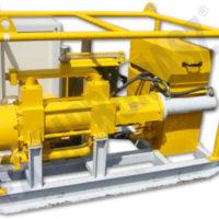 Agregat iniekcyjny AIE-200 z napędem elektrycznym i pompą PTI-150