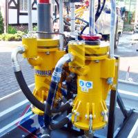 Pompa PPN-250 na przyczepie