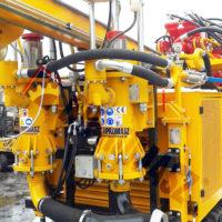 Pompa PPN-350 na wiertnicy gąsienicowej