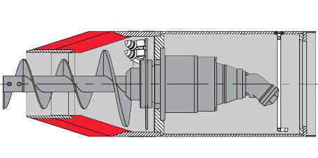 Poszerzacz z napędem hydraulicznym