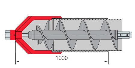 Prowadnik rury osłonowej do gruntów lekkich i średniozwięzłych