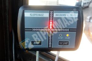 Inklinometr - elektroniczna kontrola pionowości i poziomu