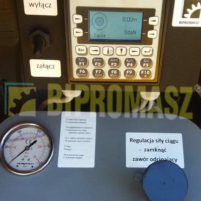 Rejestrator do wciągarki kablowej