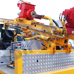 Wiertnica do pomp ciepła i studni H25SI - na samochodzie ciężarowym