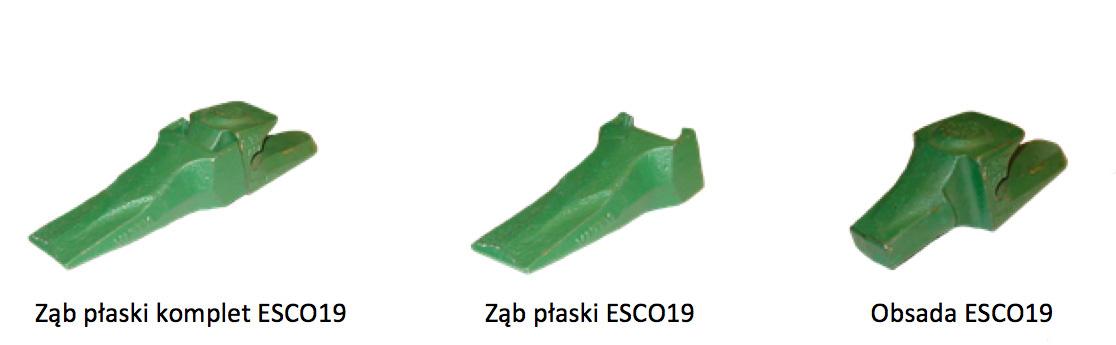 Ząb płaski ESCO 19