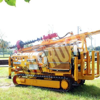 Wiertnica pionowa geotechniczna H16G - na podwoziu gąsienicowym