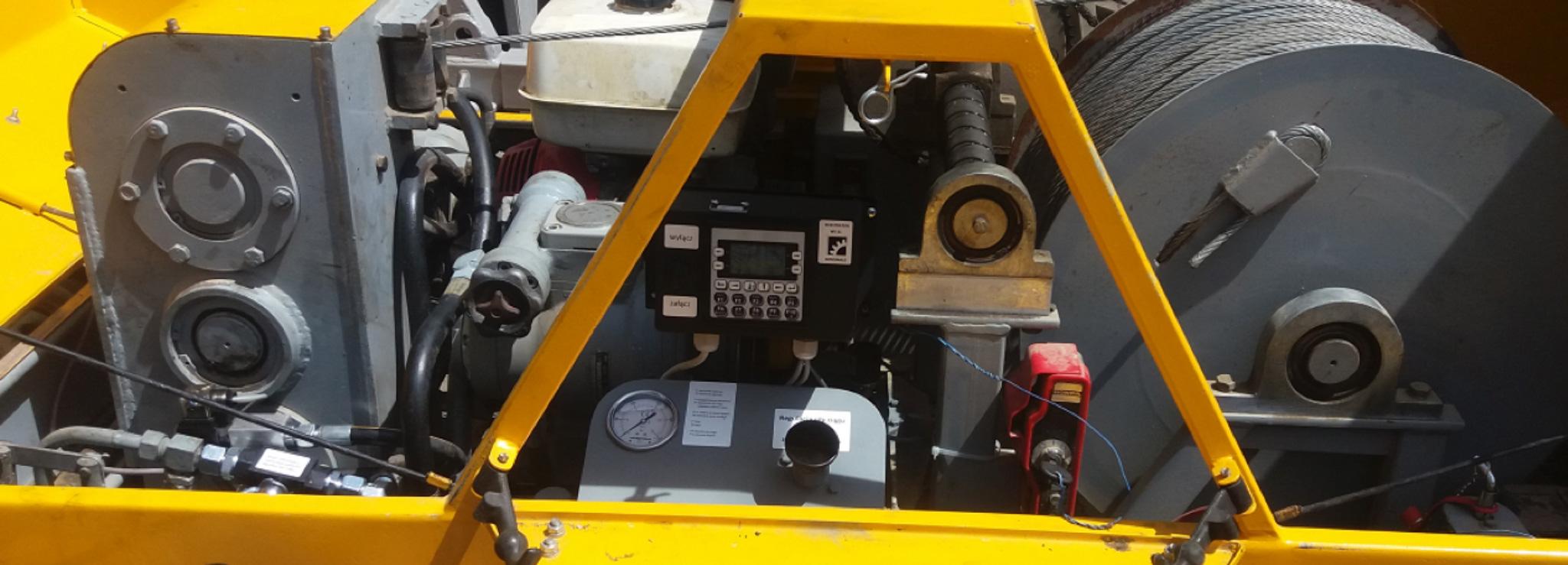 Rejestrator do wciągarki kablowej Bipromasz