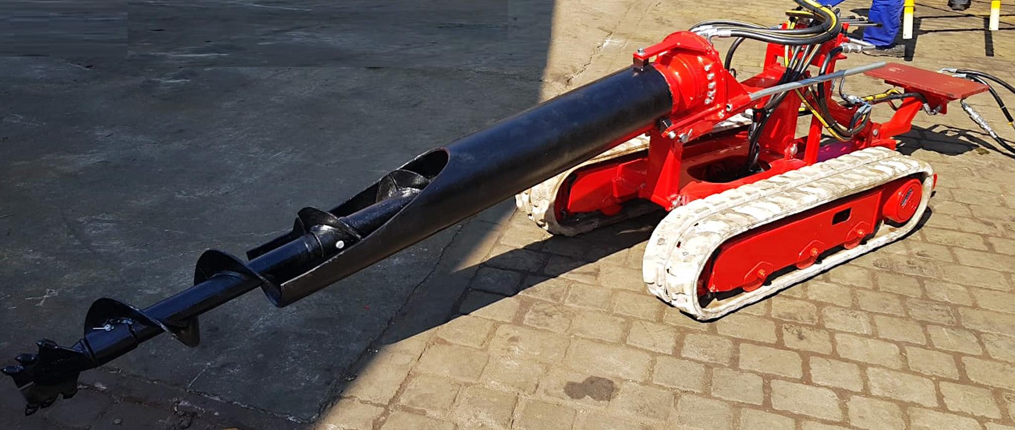 Urządzenie urabiające GU-150 produkcji Bipromasz