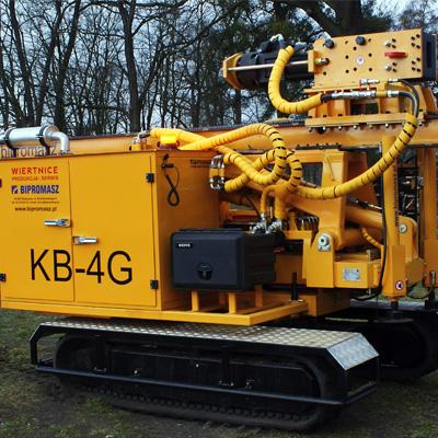 Kafar samojezdny KB-4G produkcji Bipromasz
