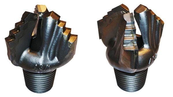 Uniwersalne głowice widiowe do wierceń płuczkowych produkcji Bipromasz