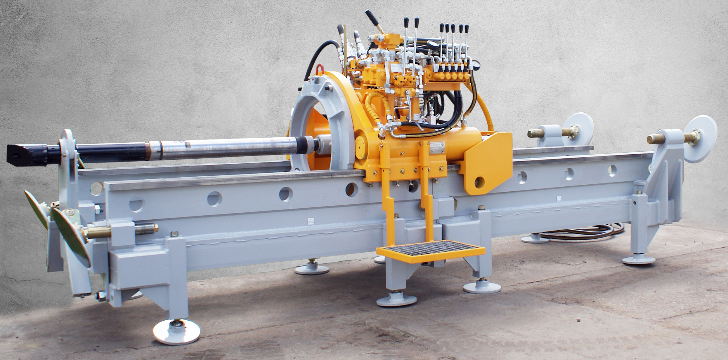 Wiertnica pozioma srerowana WPS-80 produkcji Bipromasz