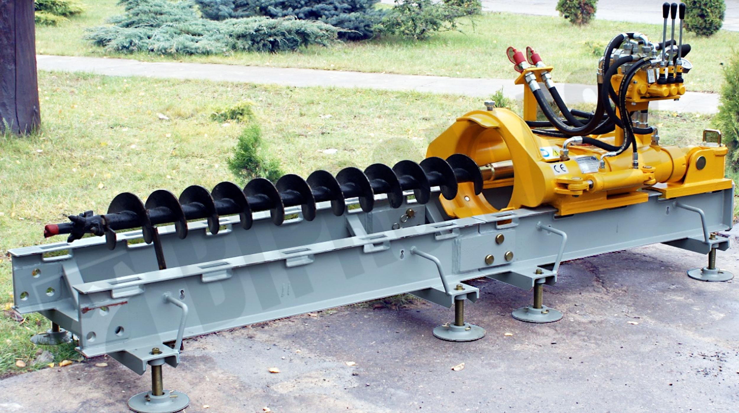 Hydrauliczne wiertnice poziome HWP-33 i HWP-50 produkcji Bipromasz