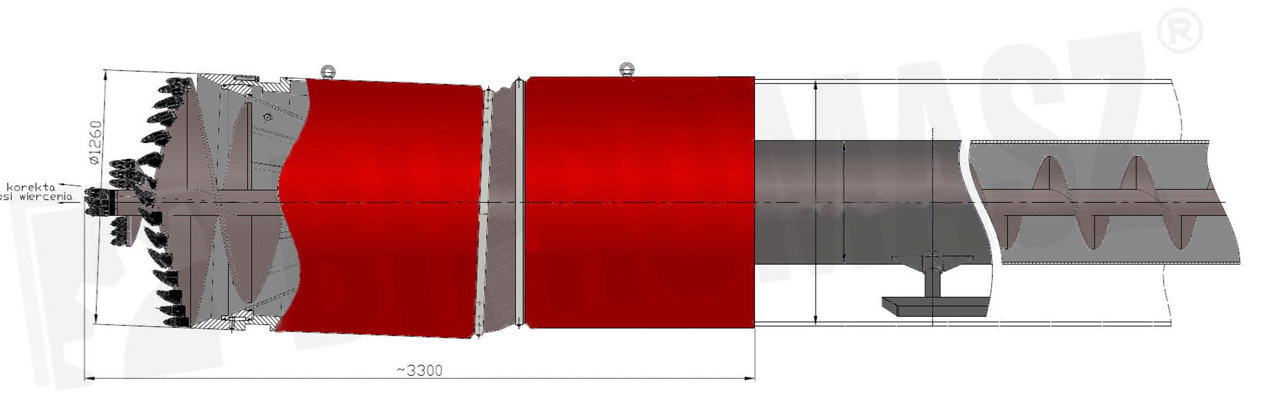 Ślimakowa głowica sterowana SGS-126 produkcji Bipromasz
