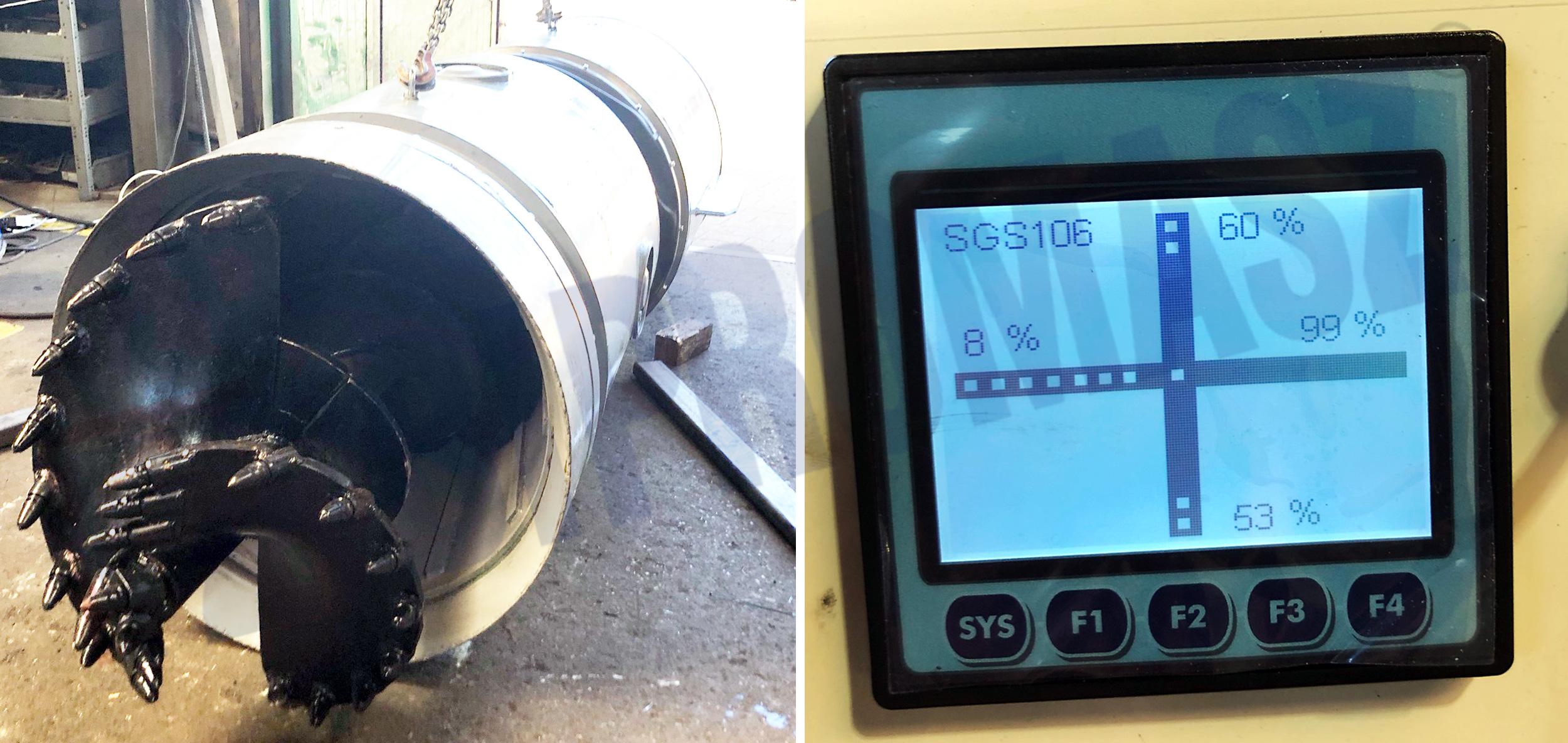Ślimakowa głowica sterowana SGS-126 - zastosowanie