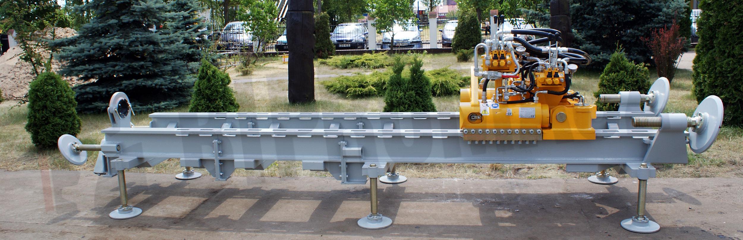 Wiertnica pozioma sterowana WPS-50