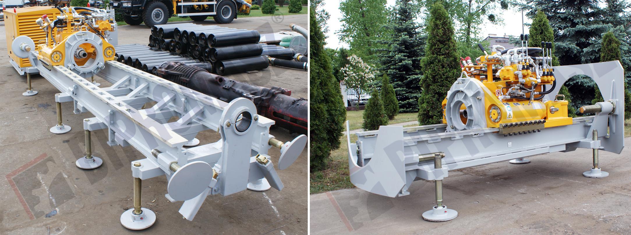 Wiertnica pozioma sterowana WPS-60 produkcji Bipromasz