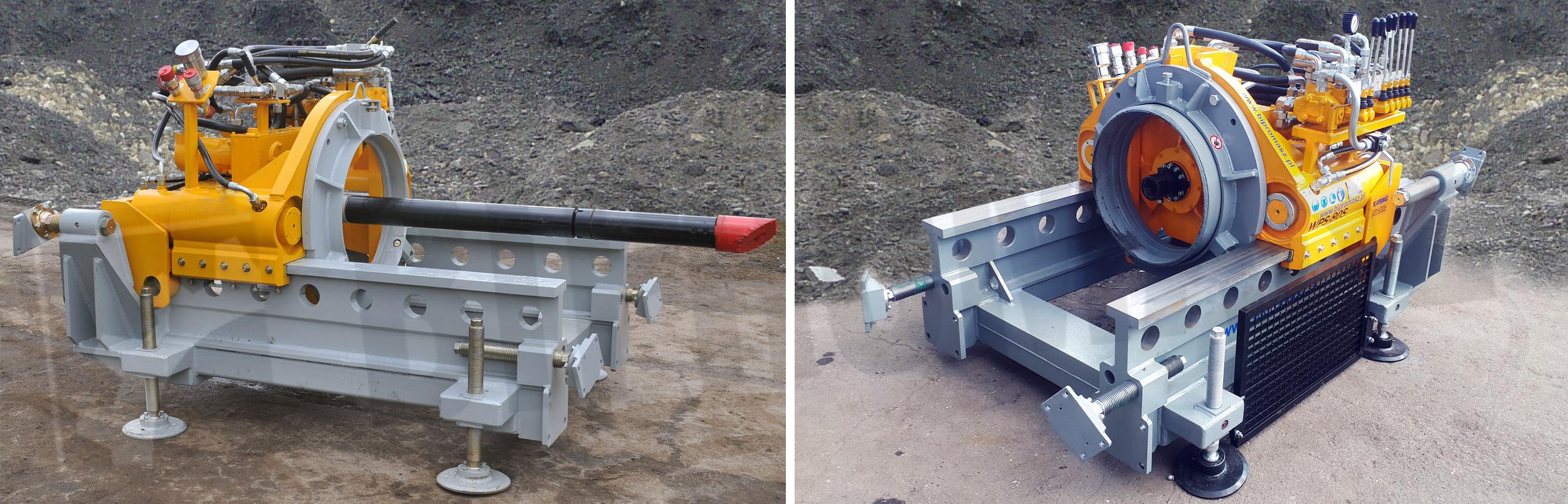 Wiertnica pozioma sterowana WPS-80S produkcji Bipromasz