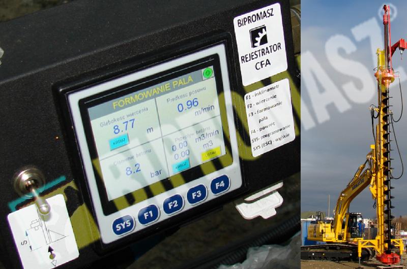 Wiertniczy system pomiarowo-rejestrujący firmy Bipromasz