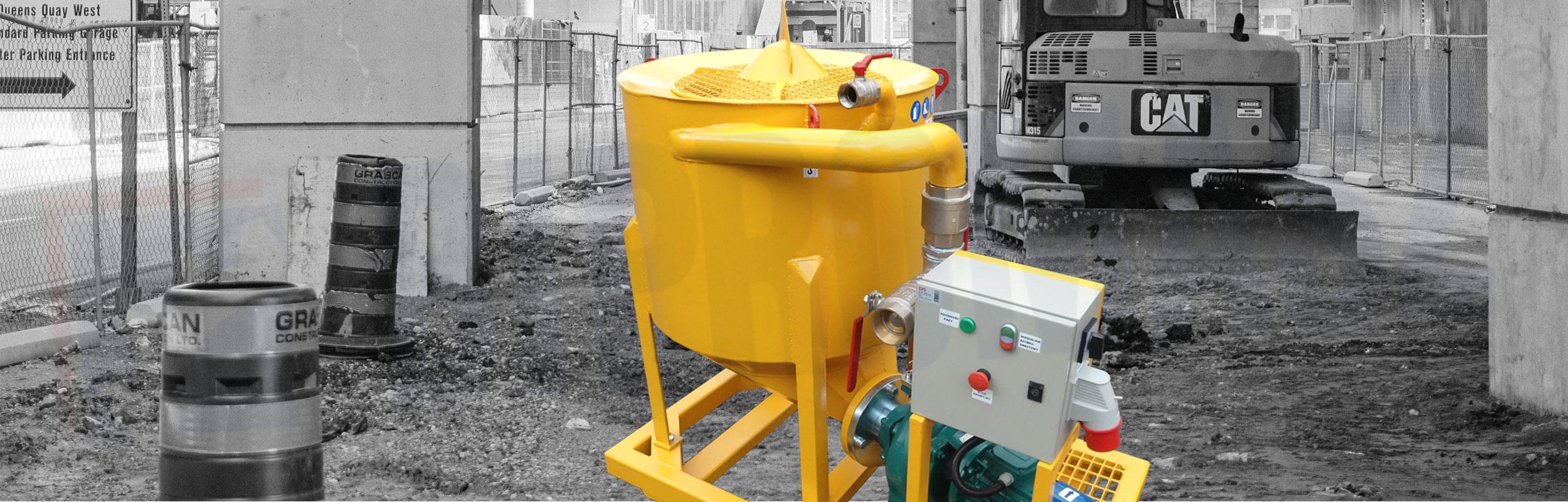 Mieszalnik szybkoobrotowy typ WMS-200 produkcji firmy Bipromasz